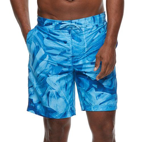 Men's Speedo Kalo Palm Comfort Liner Brushed Microfiber E-Board Shorts