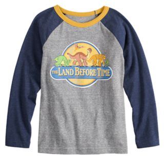 "Boys 4-12 Jumping Beans® ""The Land Before Time"" Raglan Graphic Tee"