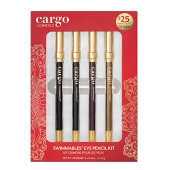 CARGO Limited Edition 4-Piece Swimmables Eye Pencil Kit