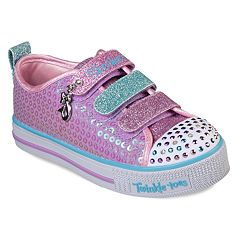 Skechers Twinkle Toes Twinkle Lite Mermaid Magic Girls' Light Up Shoes