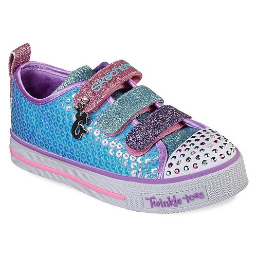 495b31823beb1 Skechers Twinkle Toes Twinkle Lite Mermaid Magic Girls  Light Up Shoes