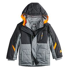 Boys 4-7 ZeroXposur Ashton Reflective Quilted Heavyweight Jacket