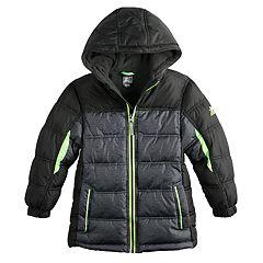 Boys 4-7 ZeroXposur Myriad Reflective Puffer Heavyweight Jacket
