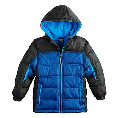 Boys 4-7 ZeroXposur Myriad Reflective Puffer Heavyweight Jacket