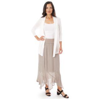 Women's Apt. 9® Gauze Handkerchief Hem Skirt
