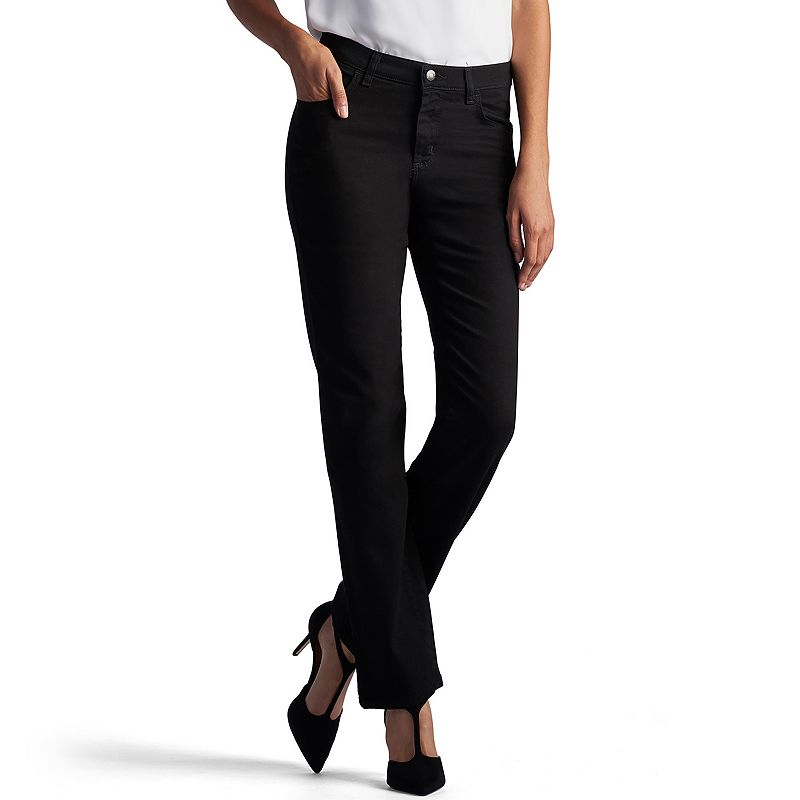 8934801909de2 Petite Lee Relaxed Fit Straight-Leg Mid-Rise Jeans