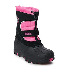 totes Jaclyn Slip On Girls' Winter Boots