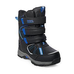 totes Simon Snowboard Boys' Winter Boots