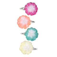 Girls Carter's 4-pack Floral Hair Clips