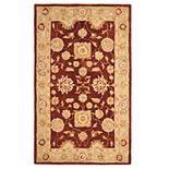 Safavieh Anatolia Rochelle Framed Floral Wool Rug