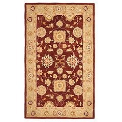 Safavieh Anatolia Rochelle Framed Floral Wool Rug