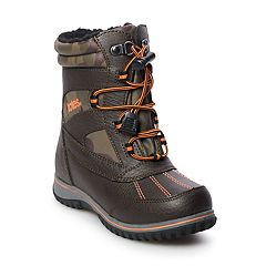 totes Romeo Camouflage Boys' Winter Boots