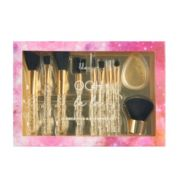 Lila Grace Oh La La 10-Piece Face & Eye Brush Set