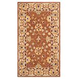 Safavieh Anatolia Tina Framed Floral Wool Rug