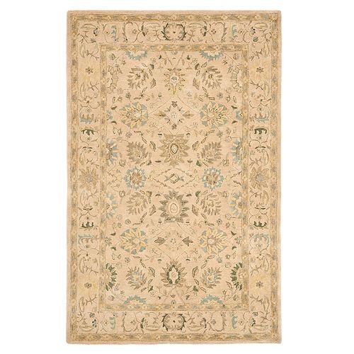 Safavieh Anatolia Dylan Framed Floral Wool Rug