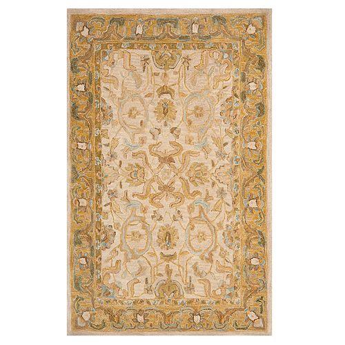 Safavieh Anatolia Chelsea Framed Floral Wool Rug