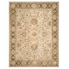 Safavieh Anatolia Zelda Framed Floral Wool Rug