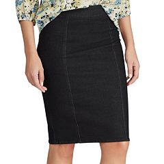 5d7c5fac0ab Women s Chaps Denim Pencil Skirt