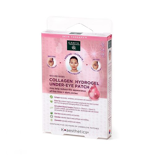 Earth Therapeutics Collagen Hydrogel Undereye Patch