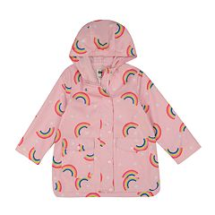 Girls 4-8 Carter's Rainbow Rainslicker