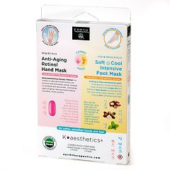 Earth Therapeutics Hand & Foot Mask Set