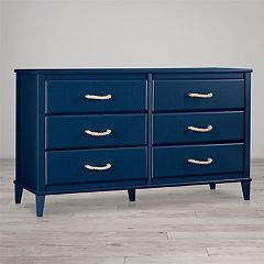 Little Seeds Sierra Ridge Mesa 6-Drawer Dresser