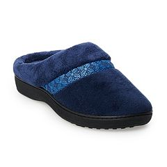 Women's isotoner Jena Microterry Hoodback Slippers