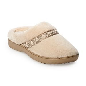 1418fa413d98 isotoner Women s Andrea Space Knit Clog Slippers. (32). Sale