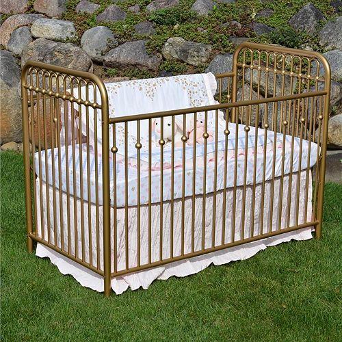 Little Seeds Monarch Hill Ivy Metal Convertible Crib