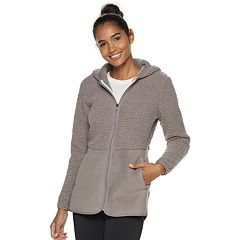 Women's FILA SPORT® Sherpa Blocked Hoodie