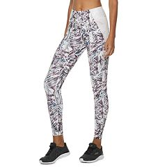 Women's FILA SPORT® Side Pieced Mid-Rise Leggings