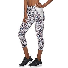 Women's FILA SPORT® Side Pieced Mid-Rise Capri Leggings