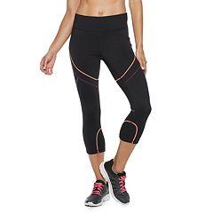 Women's FILA SPORT® Popstitch Mid-Rise Capri Leggings