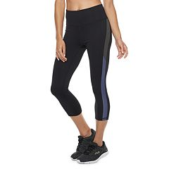 Women's FILA SPORT® Stretch Trim High-Waisted Capri Leggings