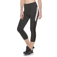 Women's FILA SPORT® Stretch Trim High-Waisted Capri Leggings