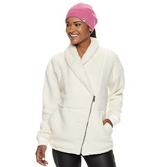 Women's FILA SPORT® Sherpa Shawl Collar Jacket