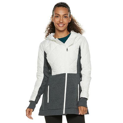 02a1d0f83cfe Women s FILA SPORT® Quilted Fleece Hooded Jacket