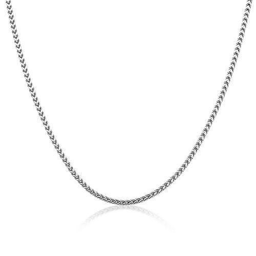Men's LYNX Stainless Steel Franco Chain Necklace