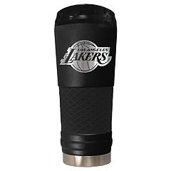 Los Angeles Lakers Stealth Draft Powder-Coated Travel Tumbler