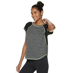 Women's FILA SPORT® Dolman Mesh Short Sleeve Tee