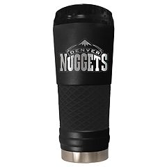 Denver Nuggets Stealth Draft Powder-Coated Travel Tumbler