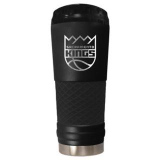 Sacramento Kings Stealth Draft Powder-Coated Travel Tumbler