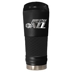 Utah Jazz Stealth Draft Powder-Coated Travel Tumbler