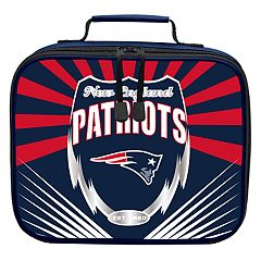 New England Patriots Lightening Lunch Bag by Northwest