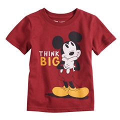 Disney's Mickey Mouse Baby Boy 'Think Big' Softest Graphic Tee by Jumping Beans®