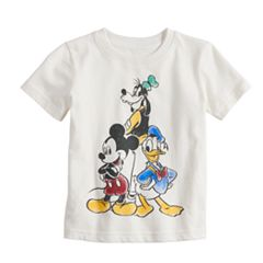 Disney's Mickey Mouse Baby Boy Goofy, Donald Duck & Mickey Mouse Softest Graphic Tee by Jumping Beans®