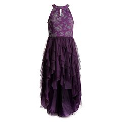 Girls 7-16 Emily West High-Low Cascade Dress