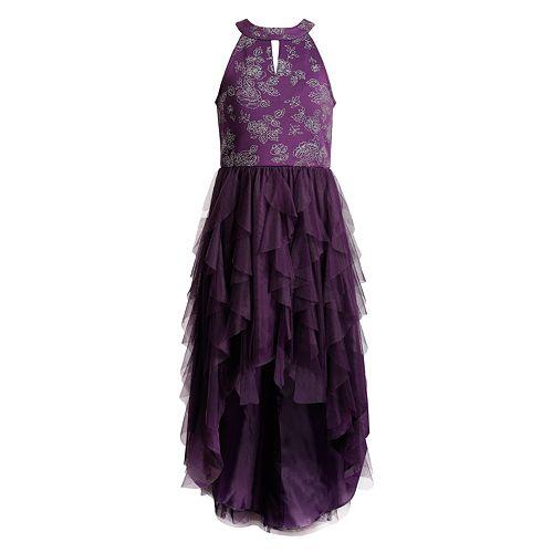 Girls 7-16 Emily West High-Low Cascade Dress