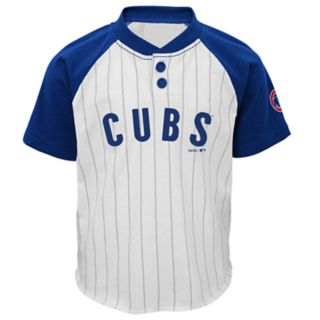 Baby Chicago Cubs Henley Tee & Shorts Set