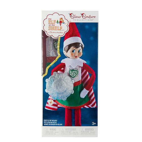 The Elf on the Shelf Claus Couture Scout Elf Superhero Girl